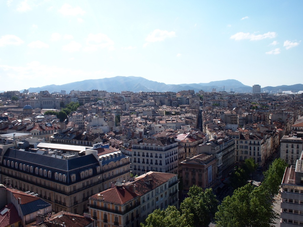Mooiste uitzicht van Marseille