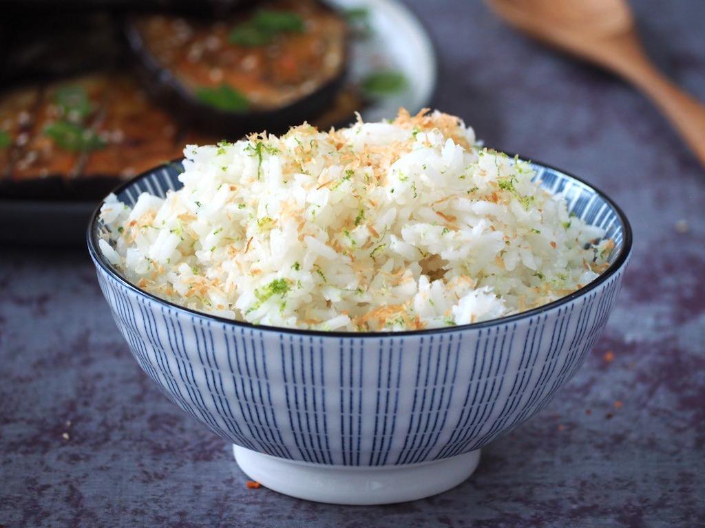 Kokos limoen rijst