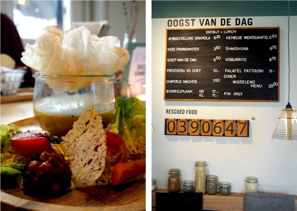 Menu instock Amsterdam