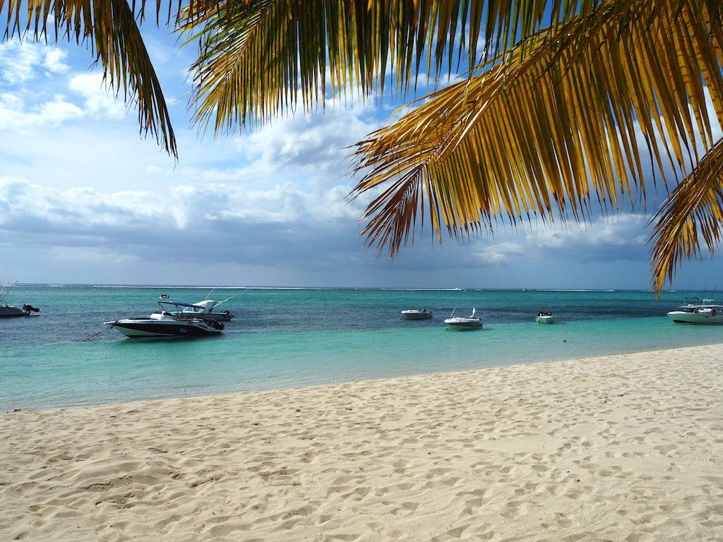 Prachtig strand mauritius