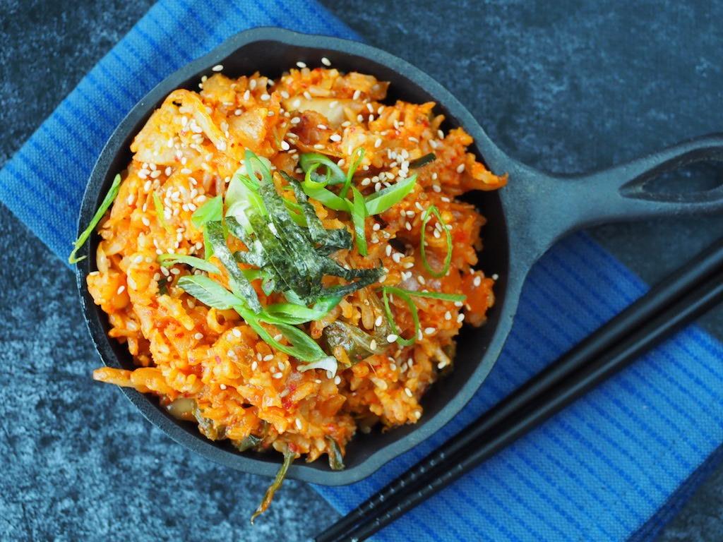 Kimchi fried rice Koreaanse nasi