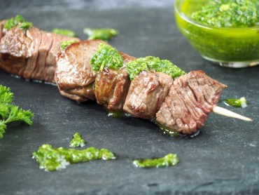 Chimichurri saus met peterselie