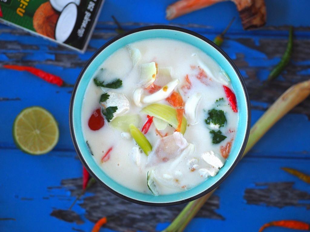 Tom Kha Gai soep