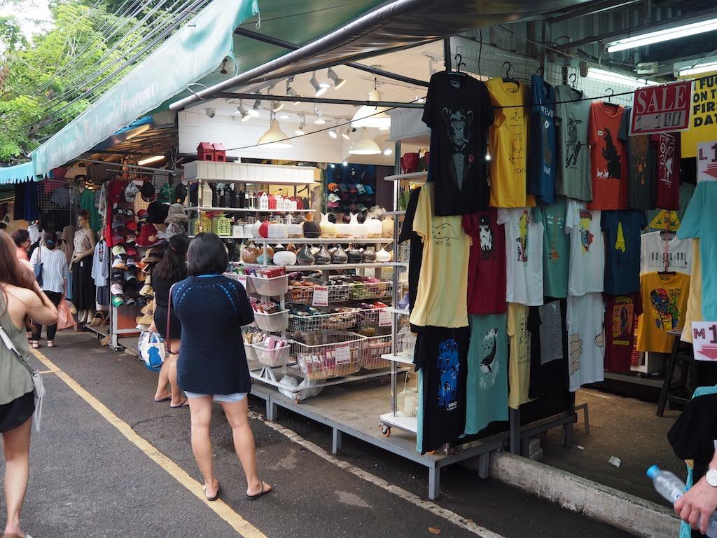 chatuchak weekend markt eten winkelen