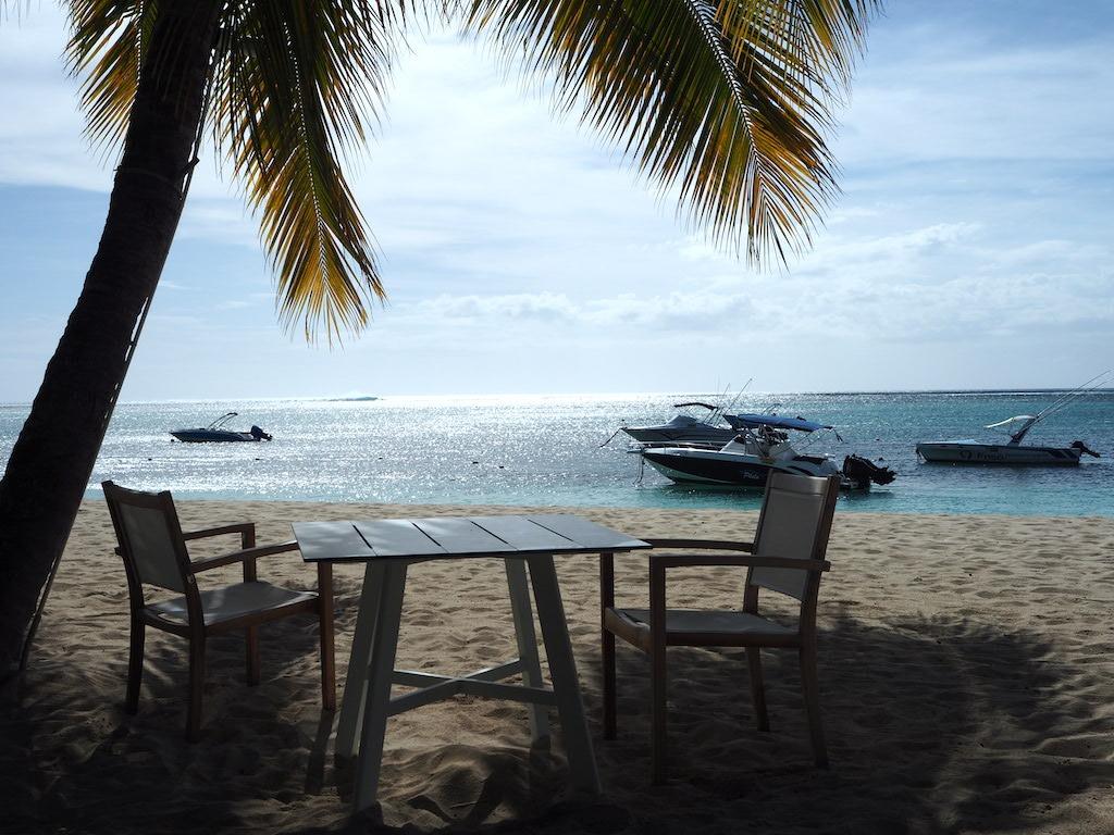 Le Morne strand Mauritius