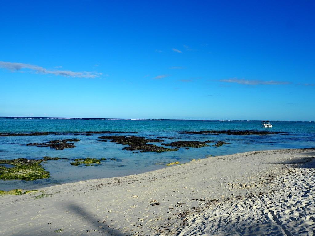Le Palmer Beach rustig strand