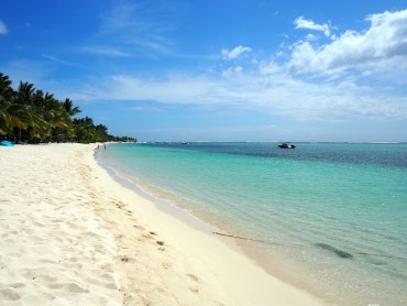 Favorieten stranden op Mauritius