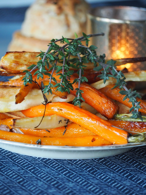Pastinaak wortel tijm