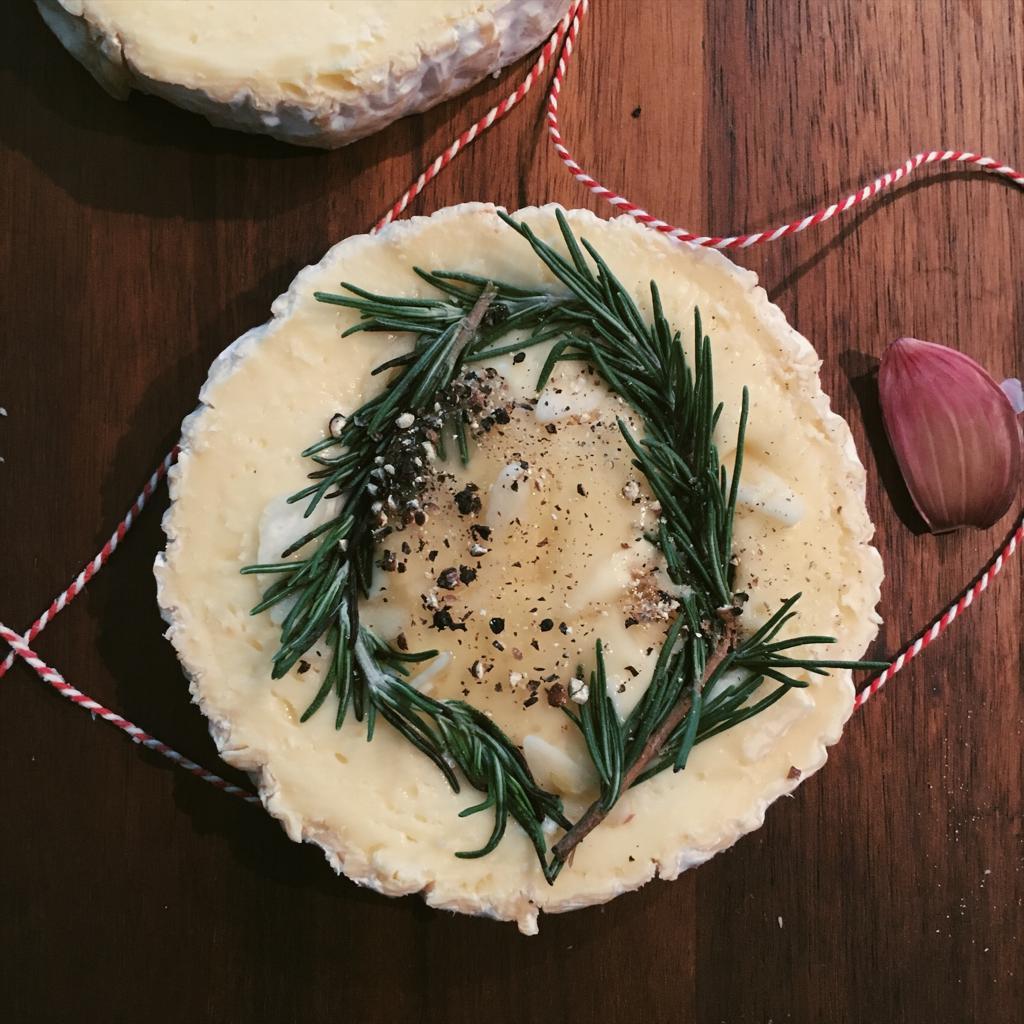 Gevulde camembert