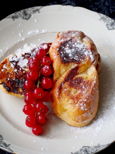 Luxe wentelteefjes met melkbroodjes