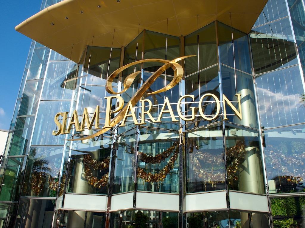 Buitenkant Siam Paragon Bangkok