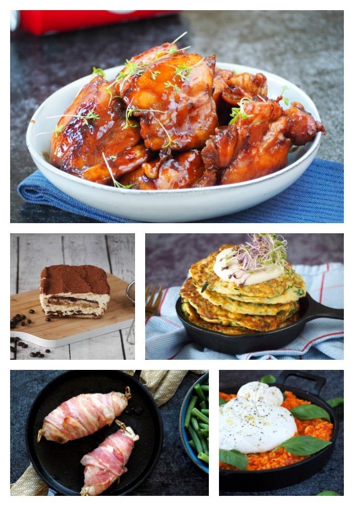 Collage populairste recepten van 2019