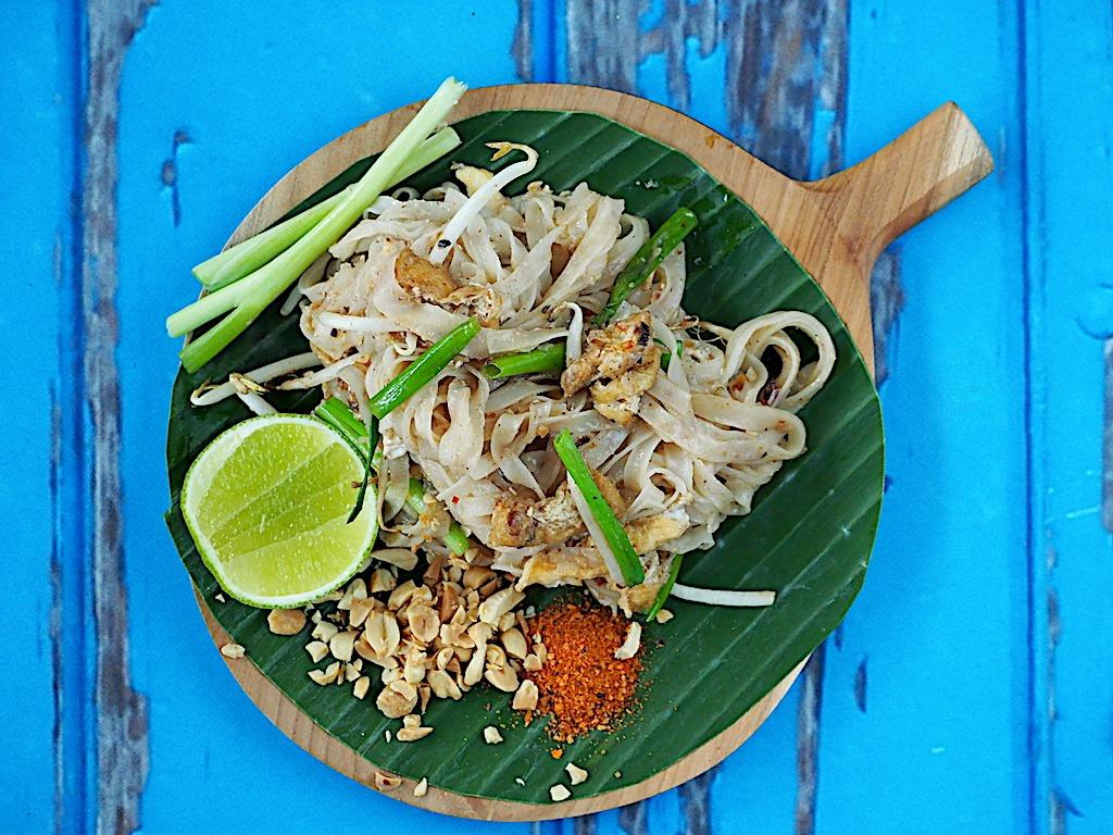 Echte thaise pad thai