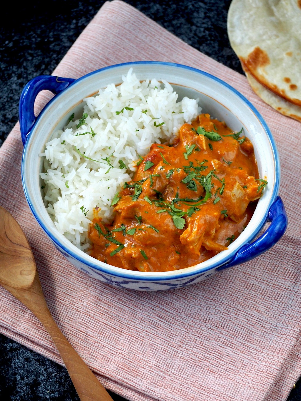 Instant pot butter chicken