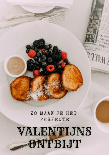 Het perfecte Valentijns ontbijt