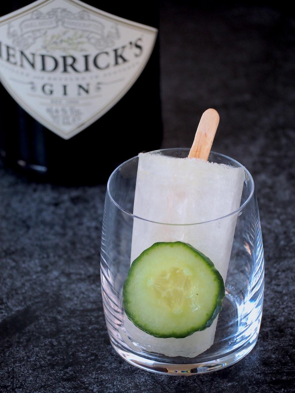 Gin tonic ijsjes