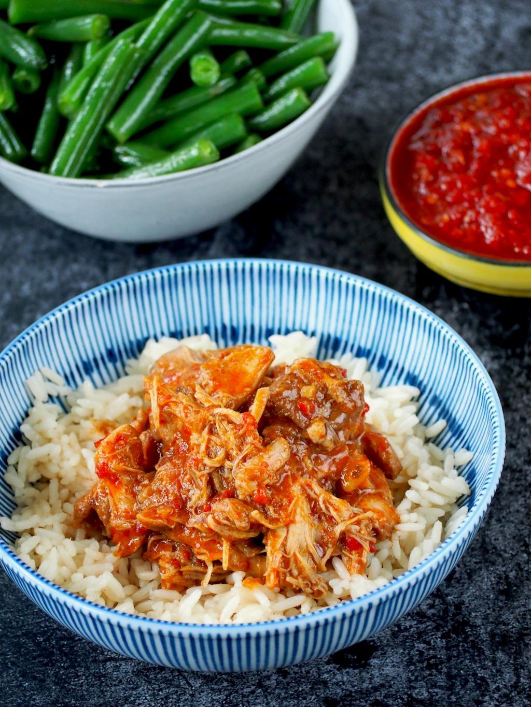 instant pot sambal kip