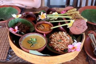 resultaat kookworkshop op Bali