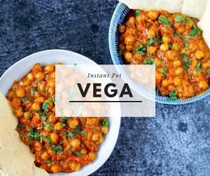 Instant Pot Vega menu