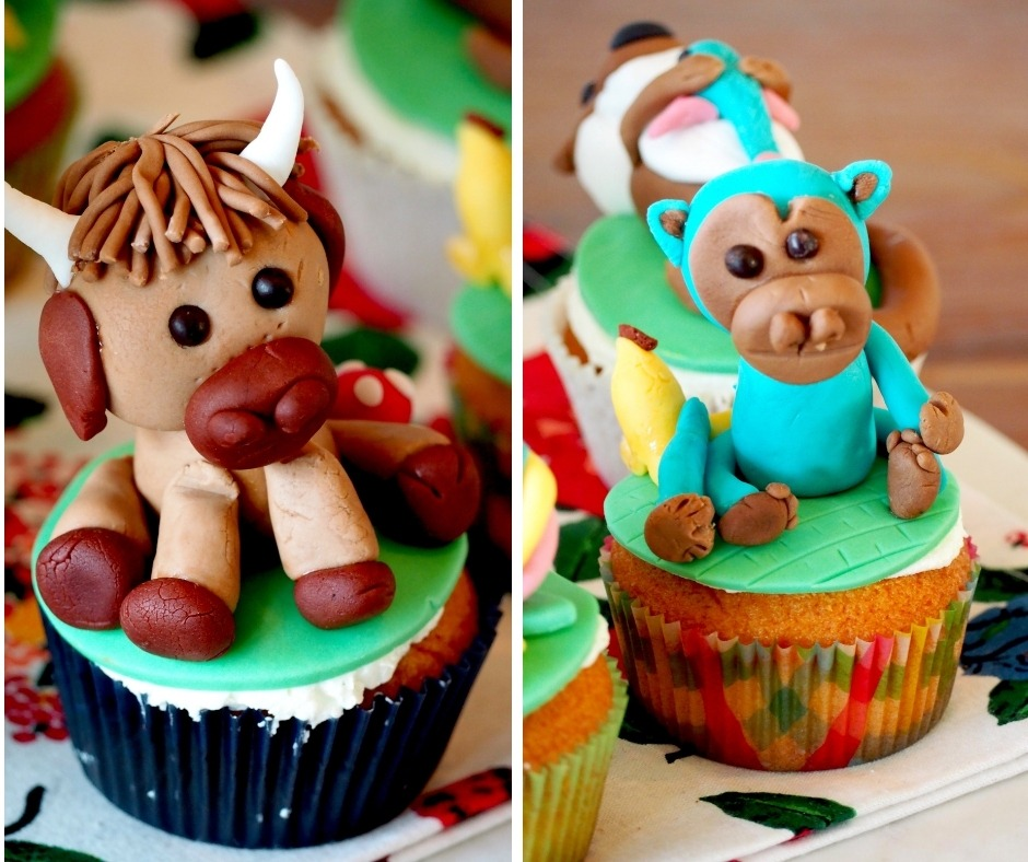 Fondant Taarttoppers