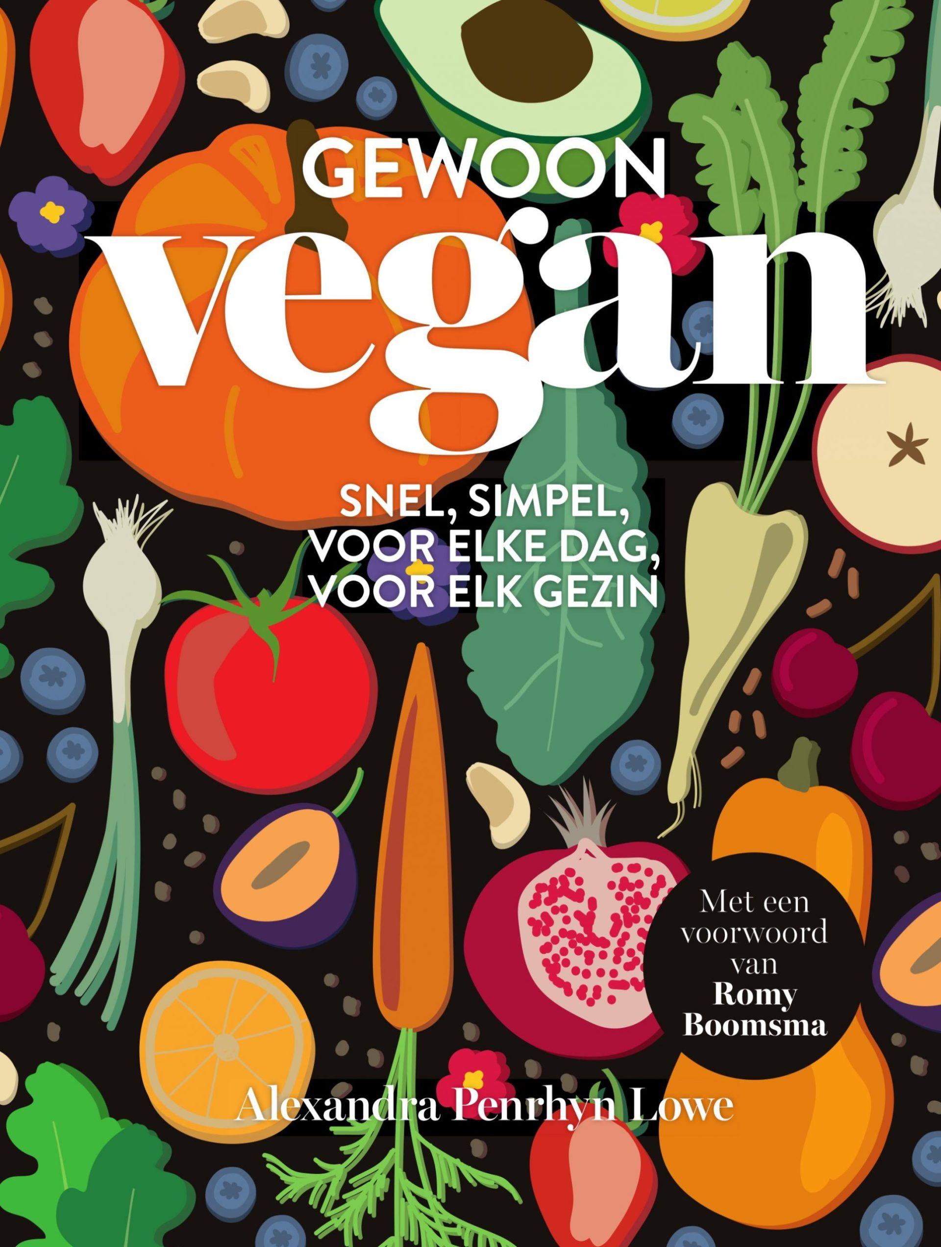 Gewoon Vegan kookboek kaft
