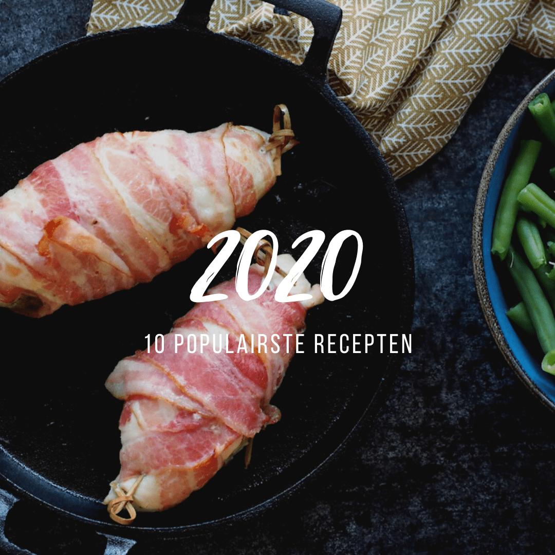10 populairste recepten van 2020