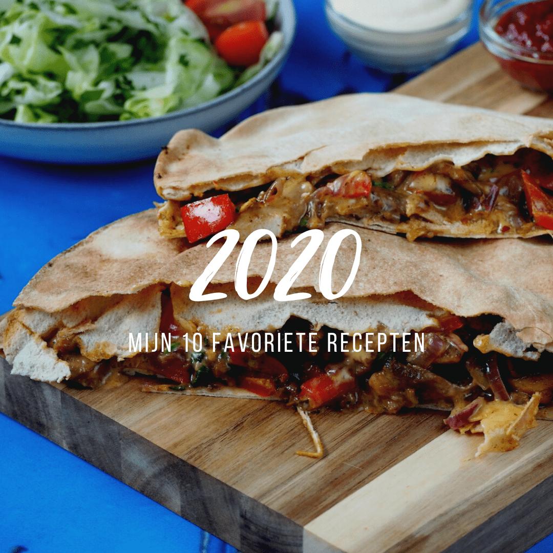 Mijn 10 favoriete recepten van 2020