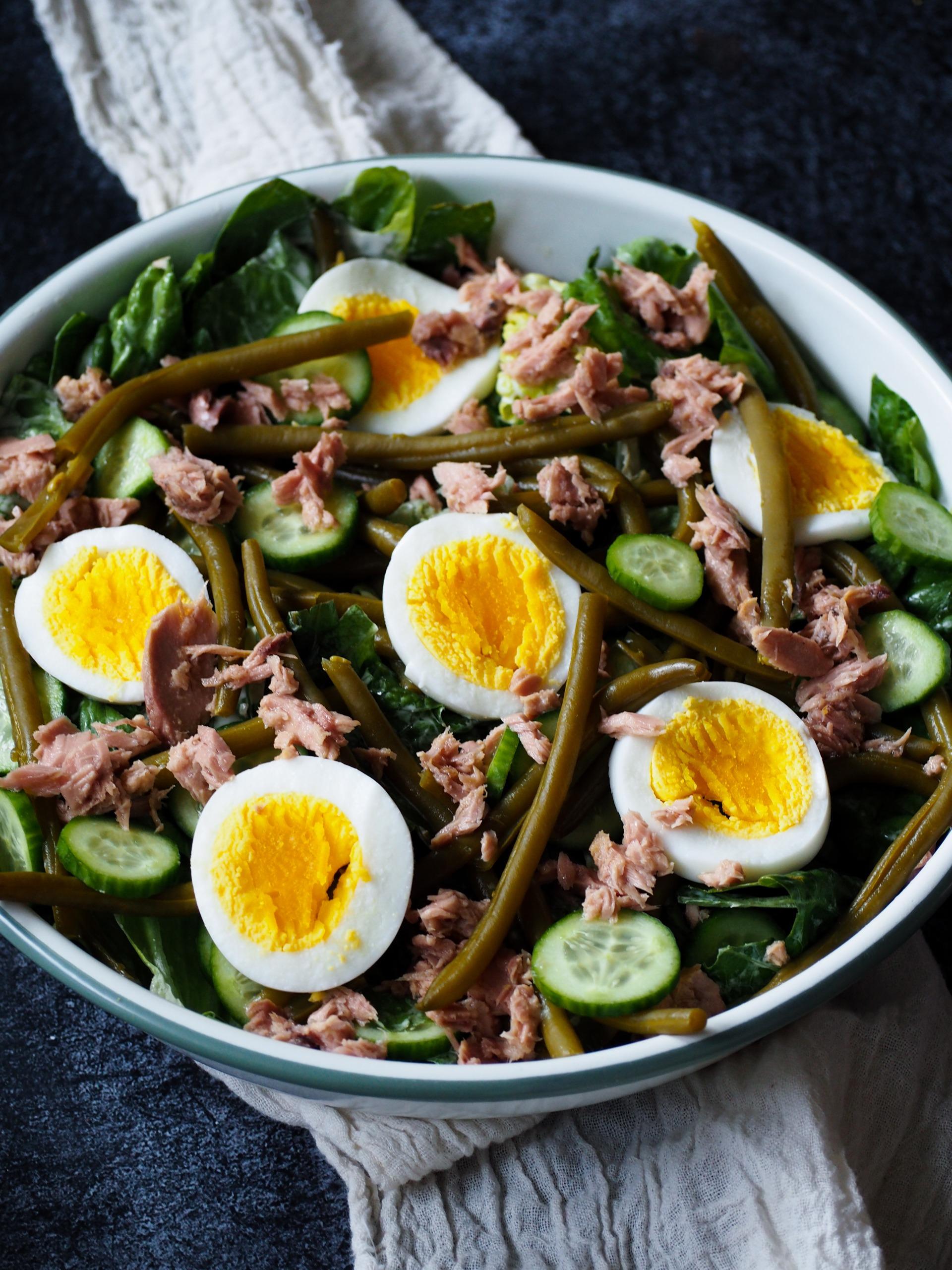 Salade Niçoise koolhydraatarm