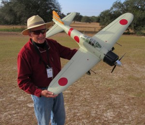 "Pat DeCarlis's Mitsubishi A6M ""Zero"""