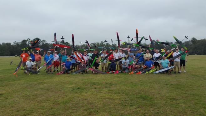 11th Annual San Felasco Hand Launch Festival Group Photo