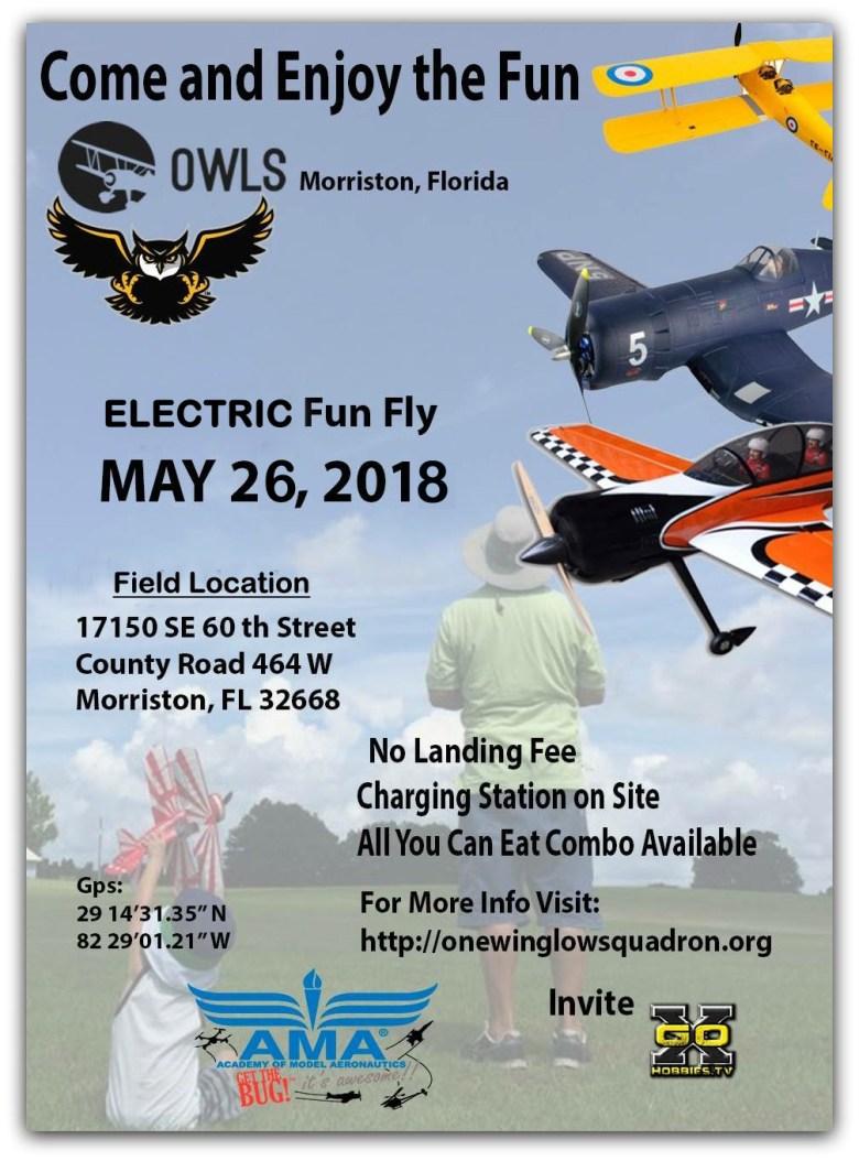 2018 OWLS Electric Fun Fly