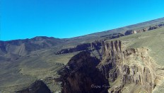 Low-level flight along the Little Colorado River Gorge in northern Arizona.