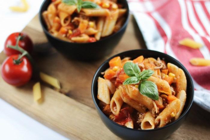 One Pot Pasta Bolognese