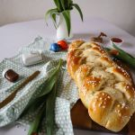 Fluffiger Hefezopf wie vom Bäcker, perfekt für Ostern, safitg, süß