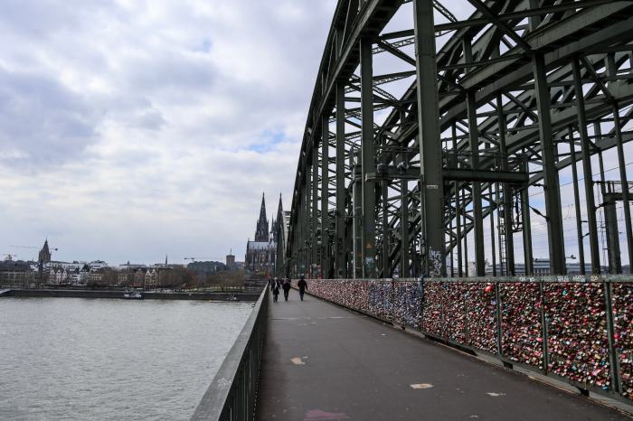 Things To Do in Köln, Cologne, Travel Guide, Hohenzollernbrücke 2