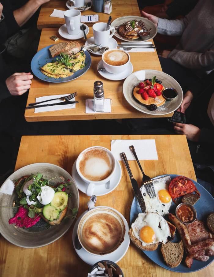 Frühstück, Brunch in Dublin, Food Guide, KC Peaches
