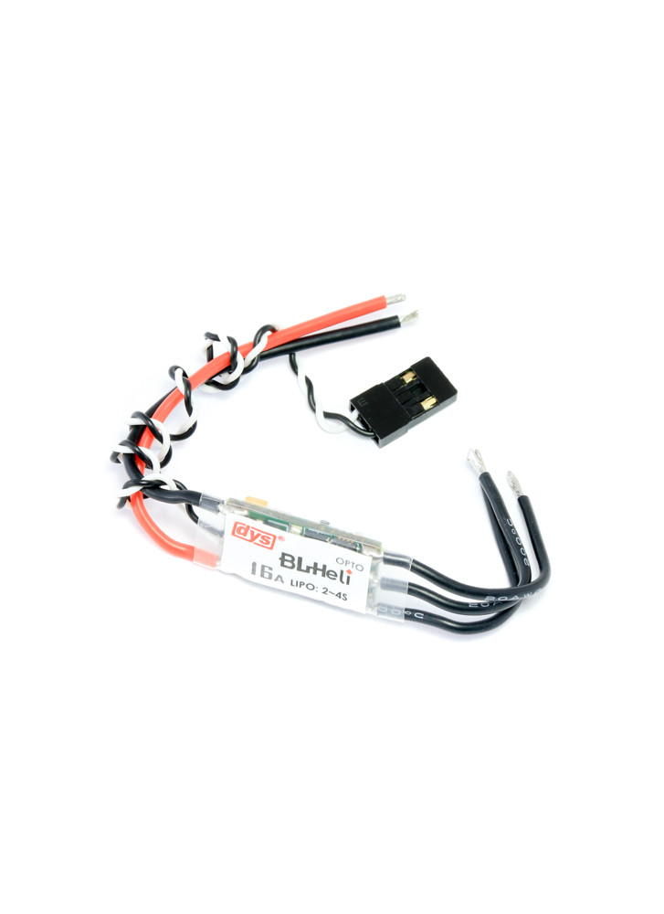 DYS BL16A BLHeli Multirotor 2-4S OPTO 16A Mini ESC