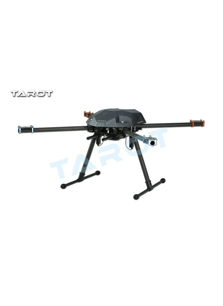 Tarot XS690 Long Endurance CF Foldable Quadcopter Frame