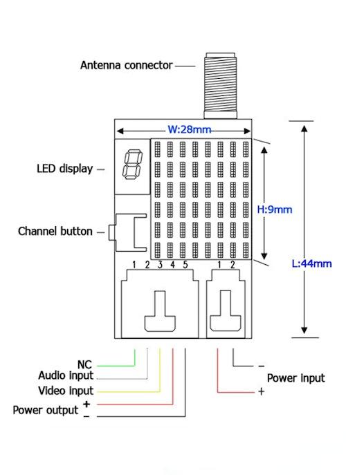 fpv transmitter wiring diagram prestige car alarm flysight 5 8ghz 25mw 21ch uk legal flying tech tx