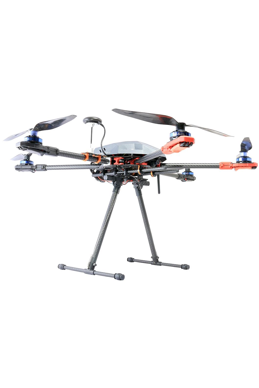 Carbon Fibre Retractable Multirotor Landing Gear