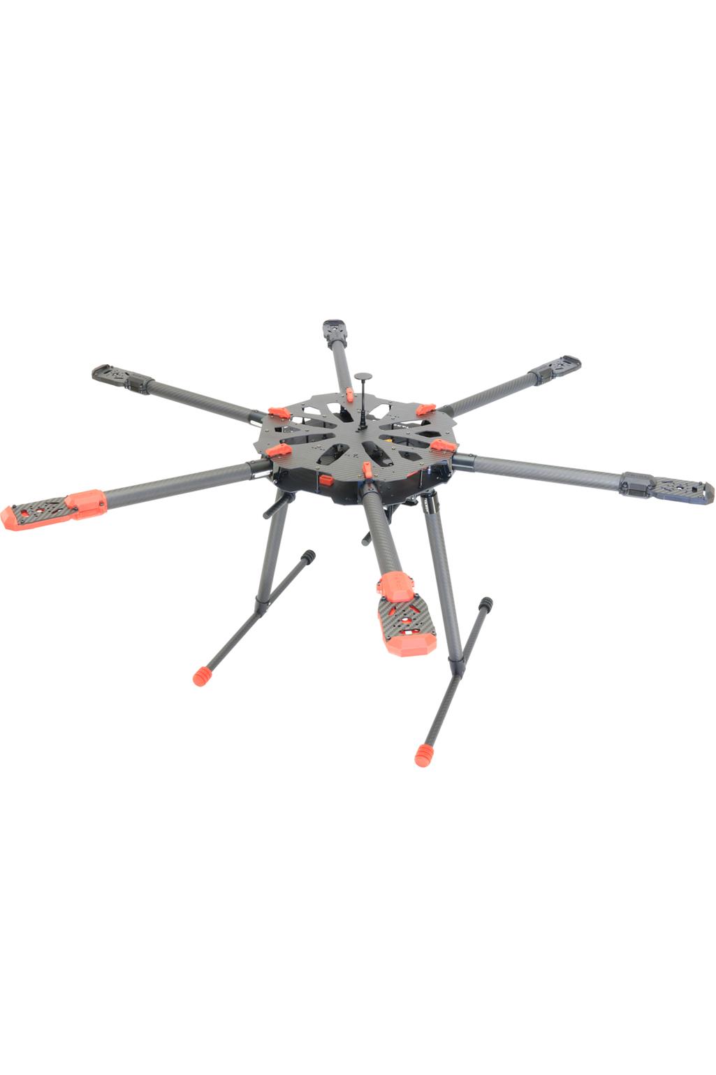 Tarot X6 690mm Carbon Fibre Foldable Hexacopter Frame