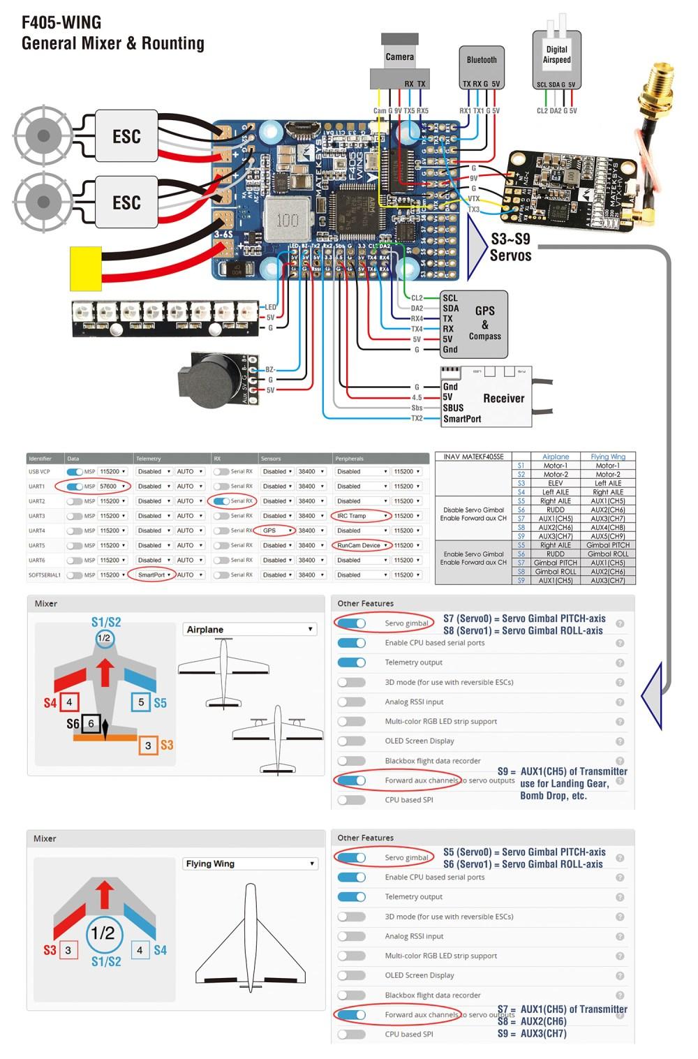 medium resolution of matek f405 wing wiring diagram fc specifications