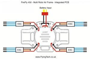 Tarot FireFly 450  Quadcopter Frame | Flying Tech