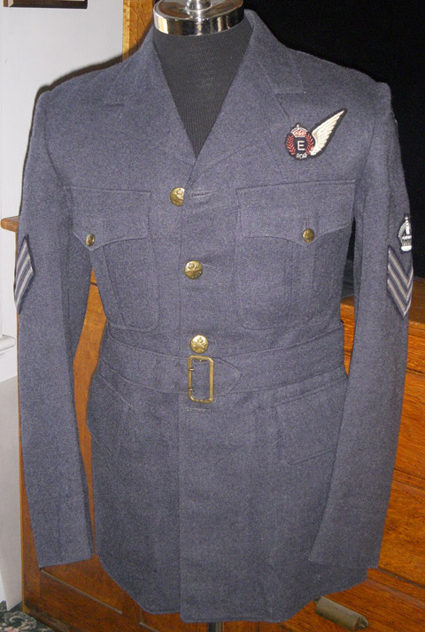 WWII Royal Canadian Air Force RCAF Flight Engineer Jacket  Pants Dated 1942 Flying Tiger