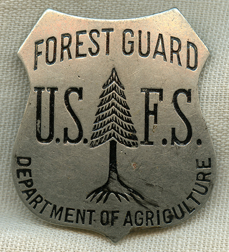 Now, more than ever, the wide open spaces of your national forests and grasslands are the perfect medicine in these challenging times. Rare 1910 S 20 S Us Dept Of Agriculture Forest Service Forest Guard Badge Flying Tiger Antiques Online Store