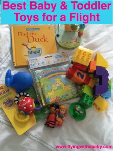 A collection of age appropriate toys and activities to entertain babies and toddlers on a flight. Including cheerio necklaces, puppet making from airplane props, and other tried and tested toys used on long haul flights.
