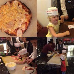 Kuala Lumpur With Kids, Destination Kuala Lumpur Pizza making at the Ritz Carlton KL, family travel