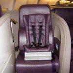 Virgin Atlantic CRD seat child restraint devices