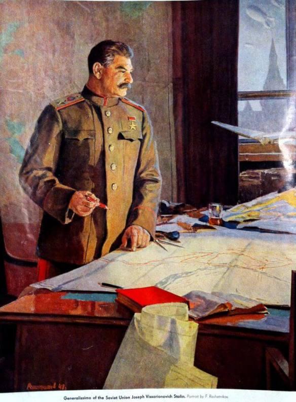 Joseph Stalin portrait - Cult of Personality