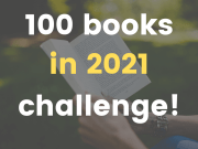 100 books in 2021 challenge (FlyIntoBooks.com)